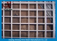 চীন Easily Assembled Galvanized Welded Wire Mesh Fence For Concrete Plain Weave Style কোম্পানির