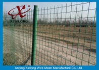 চীন Commercial Horizontal Fence Panels , Holland Wire Mesh PVC Coated কোম্পানির
