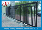 চীন Professional Automatic Sliding Gates Galvanized Pipe Material 1m Height কোম্পানির