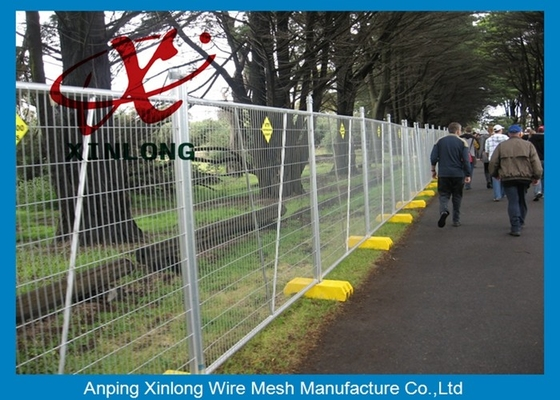 Free Standing Temporary Fencing Panels For Building Site Simple Design