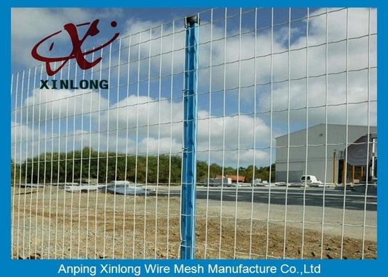 Green Pvc Coated Wire Mesh Fencing For Garden OEM Acceptable XLF-07